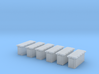 1/96 Cecil Superstructure6 Ammo Lockers 20mm Set 3d printed