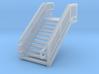 N Scale Steel Station Stairs 13.75mm 3d printed