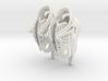 Girl-butterfly-ballet-sneaker 3d printed