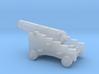 1/87 Scale 12 Pounder Naval Gun 3d printed