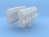 YT-1300 Freight Pusher Turbolaser Module, 2 pack 3d printed