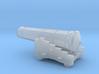 1/87 Scale 42 Pounder Naval Gun 3d printed