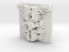 Fischer Crest 1 inch by 1 inch version 3d printed