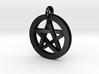 Pentacle Charm 3d printed