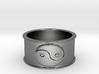 59 yin yan Ring Size 6 3d printed