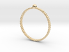 Lady Pearl Ring - Sz. 6 3d printed
