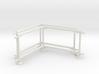 6' Fence Frame 90 deg. Corner (2ea.) 3d printed Part # CLBF-004