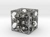 GOD's DICE & Pendant - 18mm - Precious Metal 3d printed