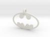 Batman necklace charm 3d printed