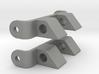 Pebble Steel 20mm & 22mm watch strap connectors 3d printed
