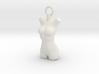 Cosplay Charm - Female Body 3d printed