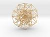 6D Cube in its Toroidal form - 50x1mm - 61 vertex  3d printed