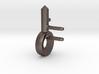 Missile key cufflink 3d printed