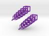 Cubes Earrings 3d printed