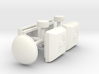 1/50th Obama Ground Force 1 bus roof details  3d printed