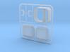 1/12 STROKE Cargo Trike: Cargobox 3d printed