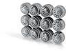 R30 Super Silhouette Hot Wheels Rims 3d printed