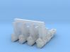 "PRHI Bespin Blaster for 2"" Figures 3d printed"