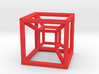 Hypercube A 3d printed