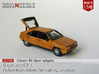 Citroën BX with open tailgate (British N 1:148) 3d printed