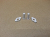 Nuts And Bolts For Tesla Flat Spiral Coil Stand 3d printed Nuts with 20mm length bolts