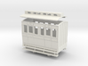OO9 4w coach 1st class clerestory roof 3d printed