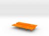 M.A.S.K. Gator Speedboat Baseplate 3d printed