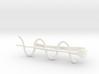Cosine Wave Tie Bar (Plastics) 3d printed