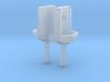 2 Handwaschbecken (TT 1:120) 3d printed