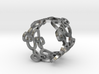 Womens Ring - Organic Filigree Vine Ring - iXi Des 3d printed