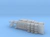 Kamaz 78504 Tank Transporter 1/44 3d printed