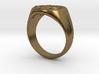 Size 13 Targaryen Ring 3d printed