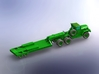 M123C Tractor w.  M172 Lowbed Trailer 1/285 3d printed