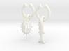 Tetrahymena and Zebrafish wine charms  3d printed