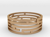 Labyrinth bracelet 3d printed