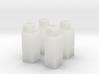 N-Scale Upright Single Door Cooler - 4 Pack 3d printed
