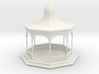 HO Scale Bandstand 3d printed This is a render not a picture