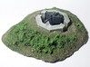 1:144 WWII German 5cm AT gun Emplacement Set 3d printed Used in a diorama, Crew not included.