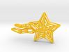 Shooting Star Voronoi 3d printed