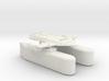 3788 Scale Orion Heavy Fleet Transport, Klingon 3d printed