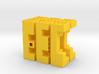 Piston Burr Puzzle 3d printed