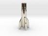 V2 Rocket Cigarette Stubber 3d printed V2Rocket Cigarette Stubber in 14k white gold