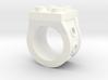 Brick 4 Stud Ring Type 2 - Size 5  3d printed