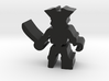 Pirate Skeleton w hook, sword, pegleg, 25mm lrg 3d printed