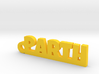 PARTH_keychain_Lucky 3d printed