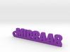 MIDRAAR_keychain_Lucky 3d printed