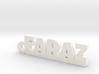 FARAZ_keychain_Lucky 3d printed