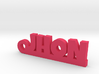 JHON_keychain_Lucky 3d printed