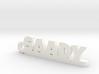 SAADY_keychain_Lucky 3d printed