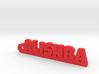 ALISHBA_keychain_Lucky 3d printed